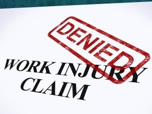 Denied Work Injury Claim Macon