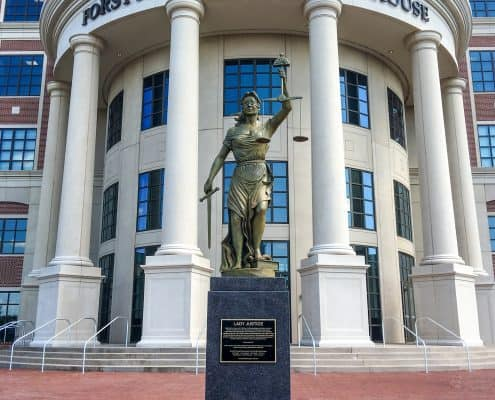 Forsyth County Courthouse in Georgia