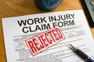Denied Claims Work Injury