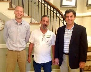 Atty. Beecher, Billy Maddox and Atty. Powers - Work Injury