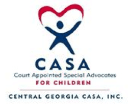 Since 1997, Central Georgia CASA fosters the safety, stability and security of neglected and abused children in Bibb, Peach and Crawford counties everyday. They represent their best interest in the Judicial Circuit Juvenile deprivation court proceedings and monitor their needs with care.