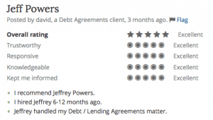 Debt Agreements Lawyer Macon GA