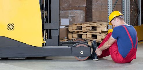 Workers Comp Injury Forklift Macon